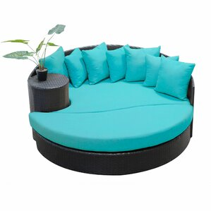 Amazing Newport Circular Sun Daybed With Cushions