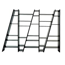 Delta Composition New 2010-005 77 Accent Shelves Bookcase by Tema