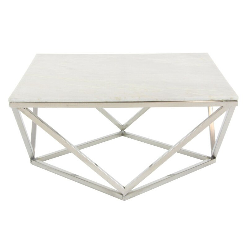 Critchfield marble top square coffee table reviews for Square marble top coffee table