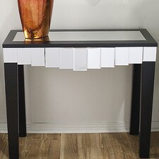Catherine Mirrored Console Table by Heather Ann Creations