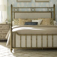 Akrotiri Upholstered Panel Bed by Bay Isle Home