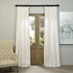 Elegant Violette Curtain Panel