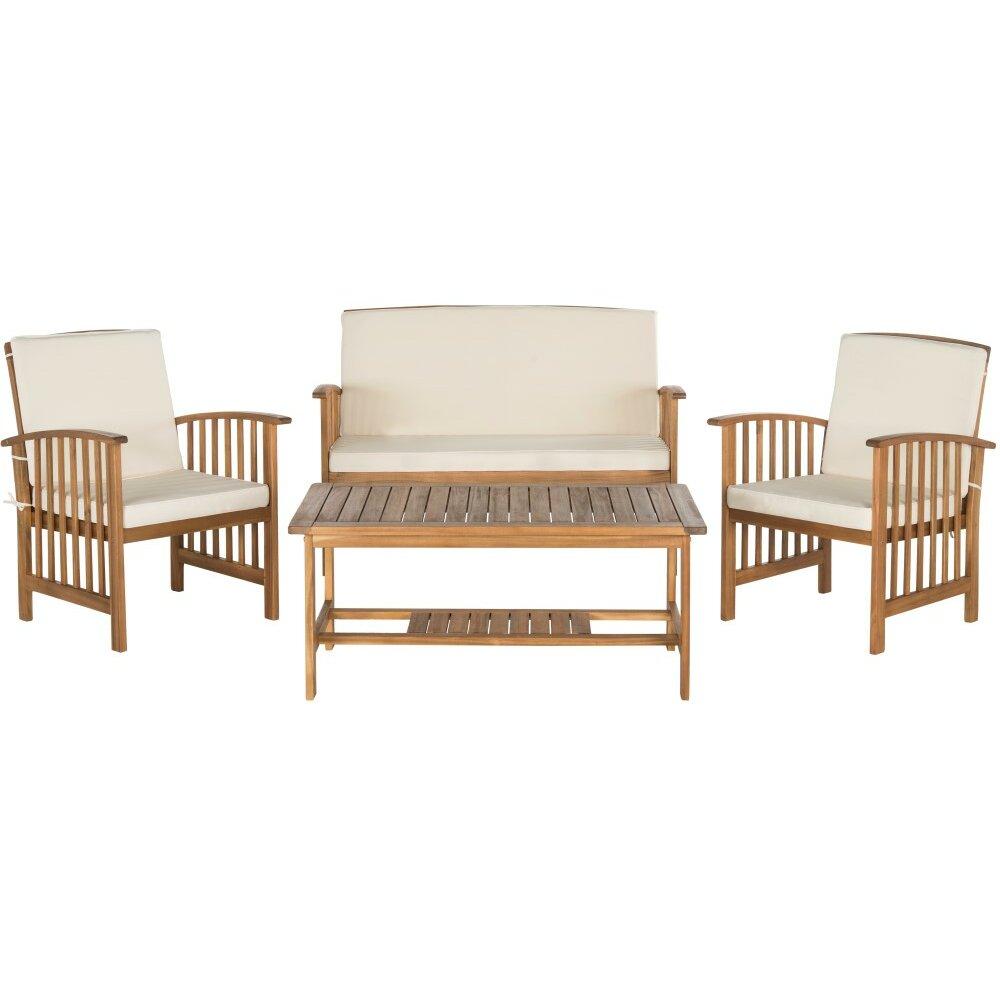 Laurel foundry modern farmhouse elina 4 piece sofa seating for Laurel 4 piece sectional sofa