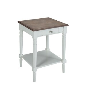Callery End Table by Charlton Home