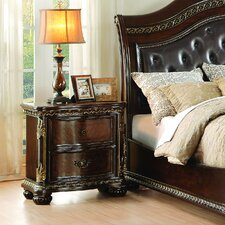Waynesburg 2 Drawer Nightstand by Alcott Hill