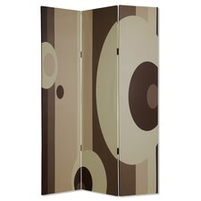 72 x 48 Umbria 3 Panel Room Divider by Screen Gems