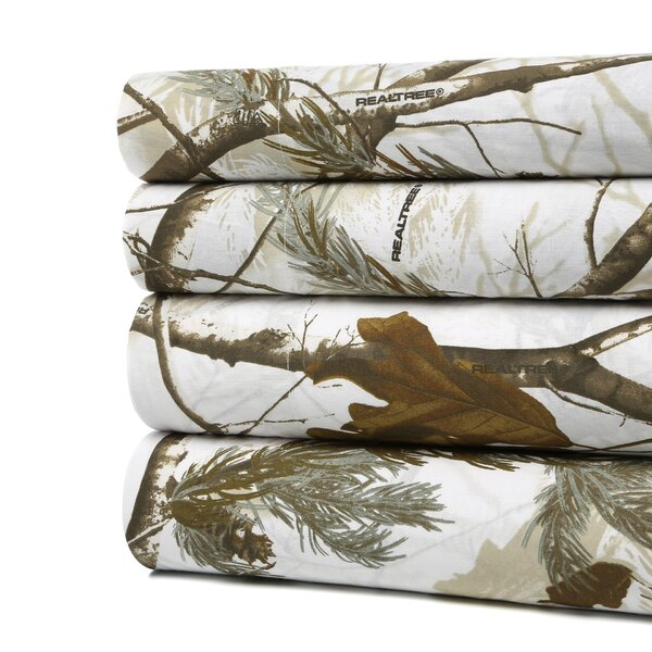Realtree realtree camo snow sheet set reviews wayfair for Camo chaise lounge