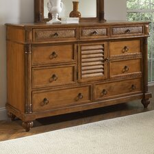 Island Manor 9 Drawer Combo Dresser by Braxton Culler