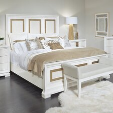 Rogers Contemporary Panel Bed by Willa Arlo Interiors