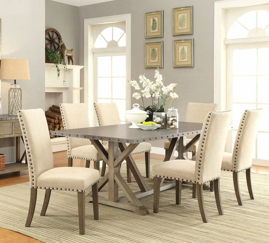 Infini furnishings athens 7 piece dining set reviews for Kitchen dining sets on sale