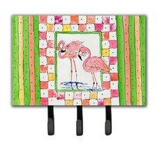 Flamingo Key Holder by Caroline's Treasures