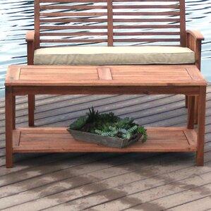 patio coffee tables you'll love | wayfair