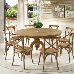 8 Seat Round Kitchen Dining Tables Youll Love Wayfair
