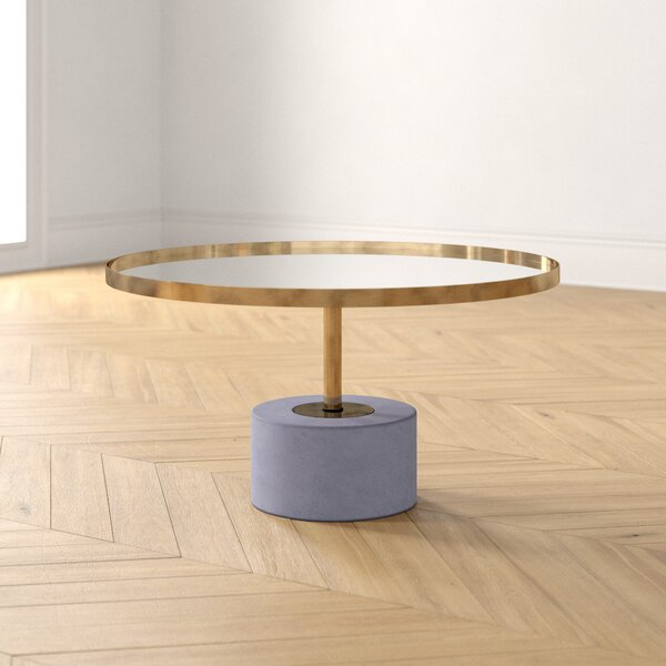 Jamila Pedestal Coffee Table By Foundstone