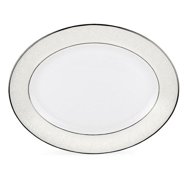 Floral Veil Oval Platter by Lenox