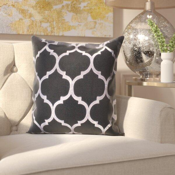 Cosentino Indoor/Outdoor Trellis Throw Pillow by House of Hampton
