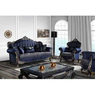 Shroyer 4 Piece Standard Living Room Set by House of Hampton®