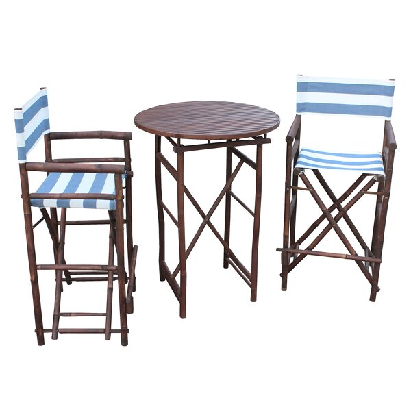 Waterford 3 Piece Bar Height Dining Set