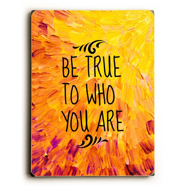 Who You Are Textual Art Multi-Piece Image on Wood by Artehouse LLC