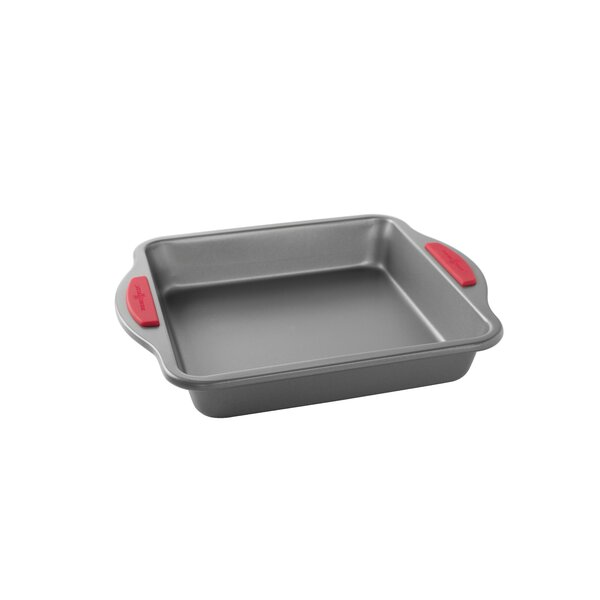 Freshly Baked Non-Stick 9 Square Cake Pan by Nordic Ware