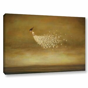 'Freeform' Painting Print on Canvas by Wrought Studio