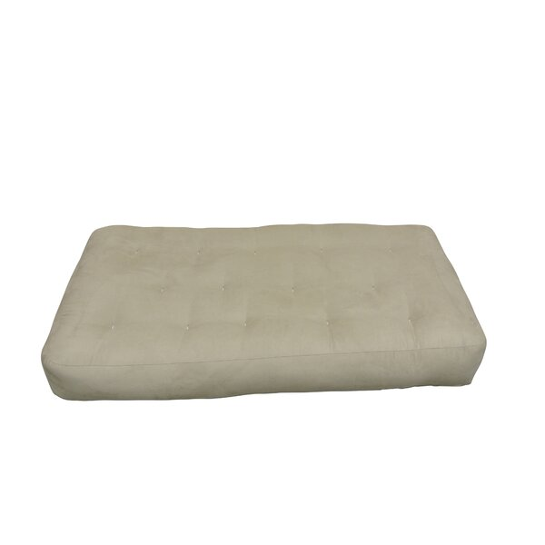 4 Cotton Chair Size Futon Mattress by Gold Bond