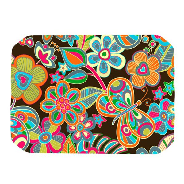 My Butterflies and Flowers Placemat (Set of 4) by KESS InHouse