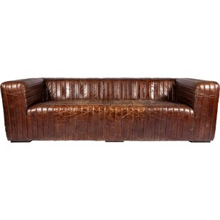 Andrea Leather Sofa