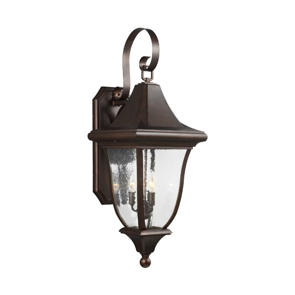 Haubstadt 3-Light Outdoor Wall Lantern by Darby Home Co