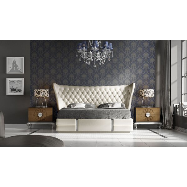 Jerri Standard 3 Piece Bedroom Set by Everly Quinn Everly Quinn