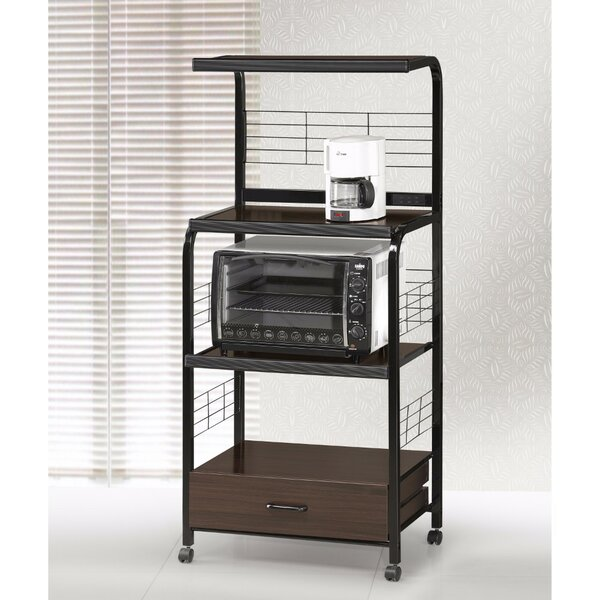 Galien Metal Kitchen Cart by Ebern Designs