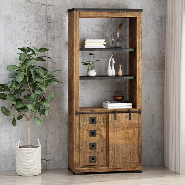 Tomaso Mango Wood Standard Bookcase By 17 Stories