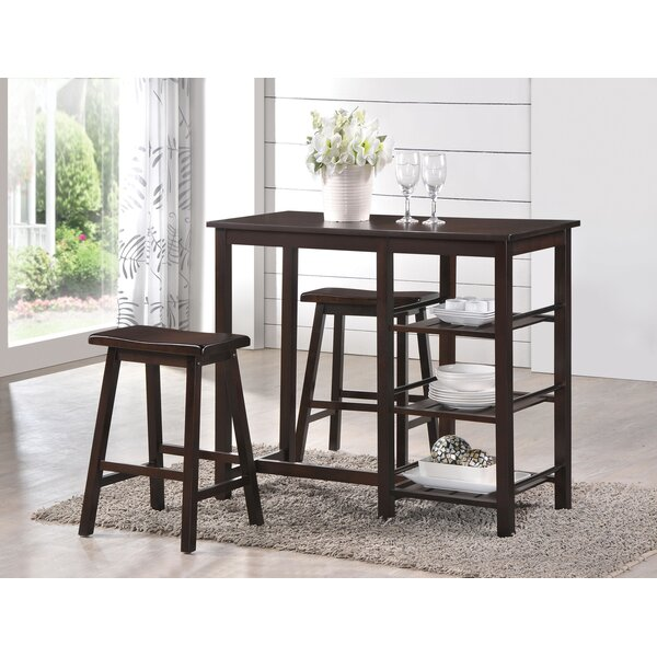 Kardinya 3 Piece Counter Height Dining Set By Latitude Run