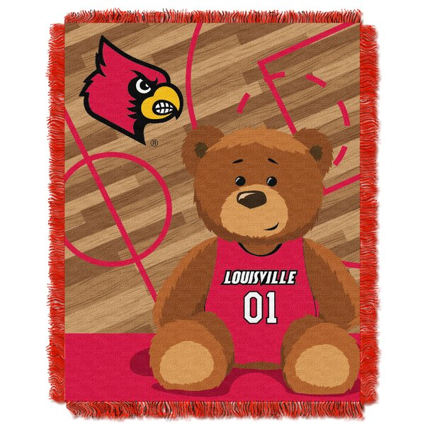 Collegiate Louisville Baby Blanket by Northwest Co.
