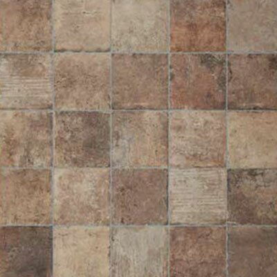 Chicago Brick 8 x 8 Porcelain Field Tile in Brown by Tesoro
