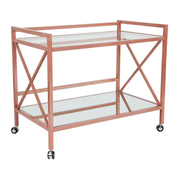 New Fairfield Bar Cart by Brayden Studio