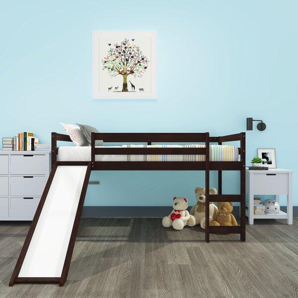 Abelhard Kids Twin Low Loft Bed by Harriet Bee Harriet Bee