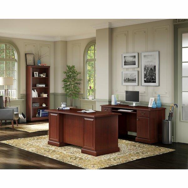 Bennington 3 Piece Desk Office Suite by Kathy Ireland Office by Bush