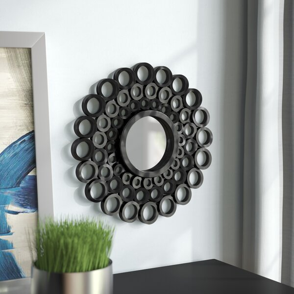 Buckingham Cascading Angular Orbs Round Accent Mirror (Set of 3) by Winston Porter