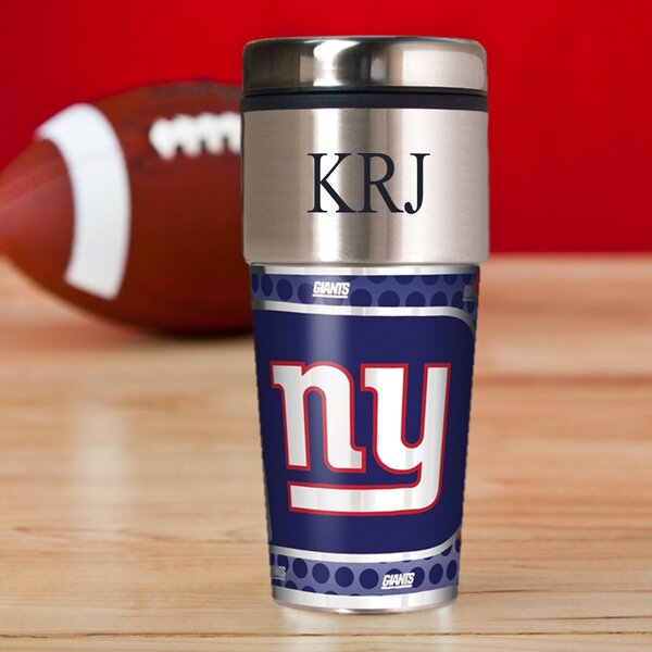 Personalized GiantsTravel Mug by JDS Personalized Gifts