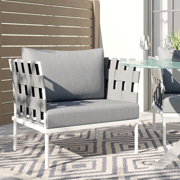 Darnell Patio Chair with Cushion by Brayden Studio