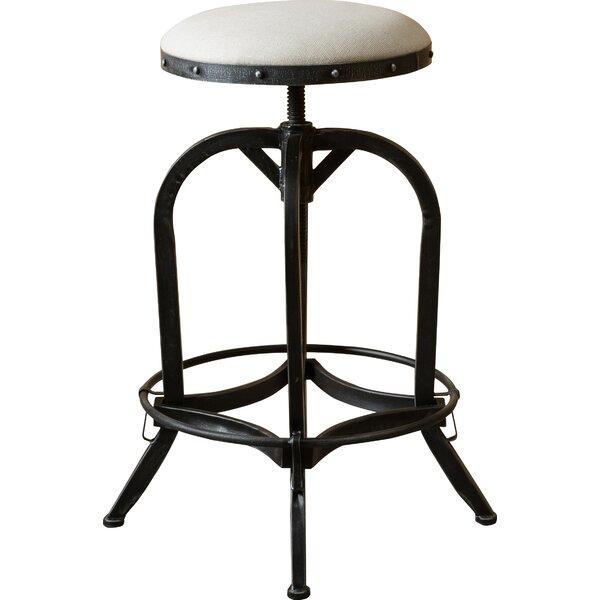 Mira Adjustable Height Swivel Bar Stool by Trent Austin Design