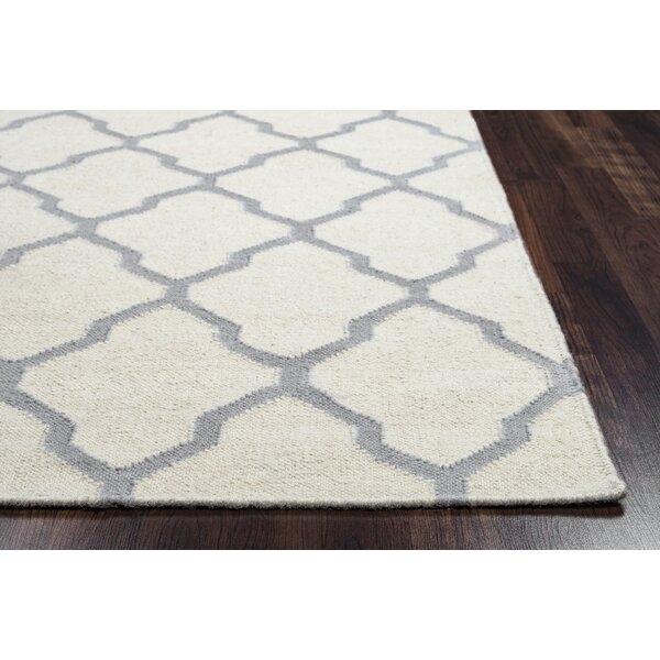 Kingsley Parchment & Light Gray Rug by Birch Lane™