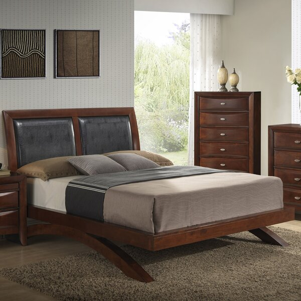 Berenice Upholstered Panel Bed by Latitude Run