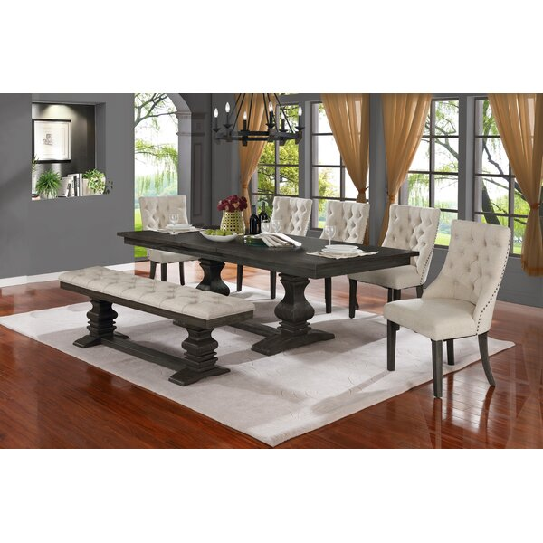 Rotteck 7 Piece Extendable Dining Set by Canora Grey