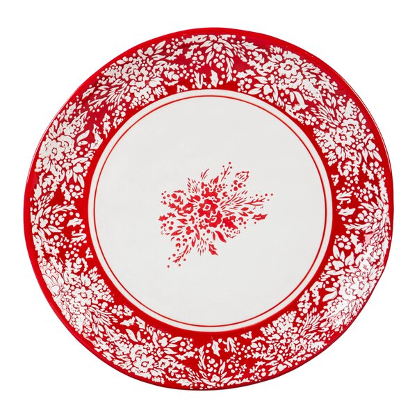 Carlos Holiday Farmhouse 10'' Dinner Plate by August Grove