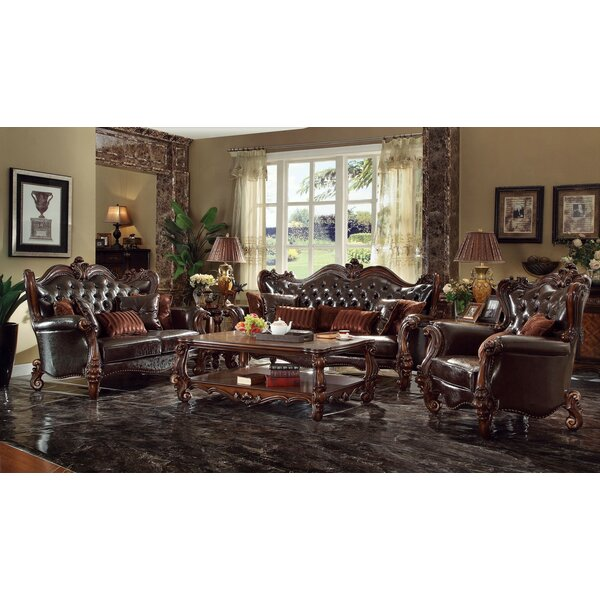 Queen 3 Piece Living Room Set by A&J Homes Studio