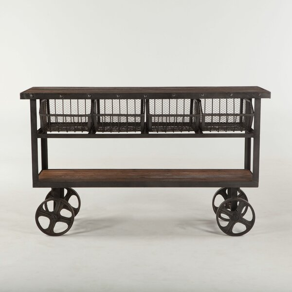 Chute Reclaimed Bar Cart by Gracie Oaks
