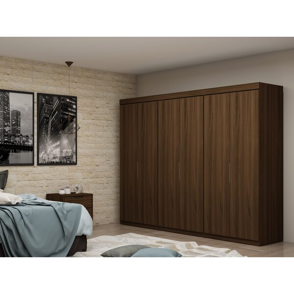 Delhi 3 Sectional Wardrobe Armoire (Set Of 3) By Latitude Run by Latitude Run 2020 Sale