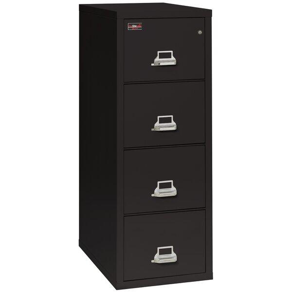 Fireproof 4-Drawer Vertical File Cabinet
